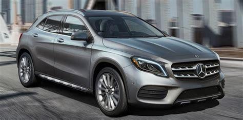 2019 Mercedesbenz Gla Review  Specs & Features Fort