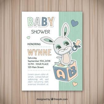 baby shower vectors   psd files