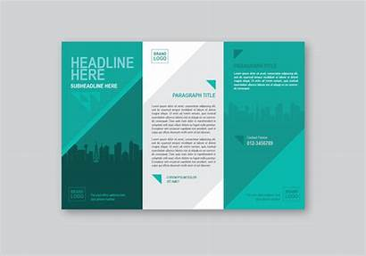 Brochure Template Professional Vector Edit Clipart System