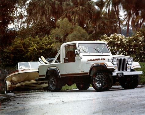 Vintage Photo 1982 Jeep 174 Scrambler Sport The Jeep Blog