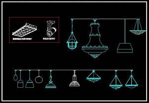 Lights engineering blocks bundle cad files dwg
