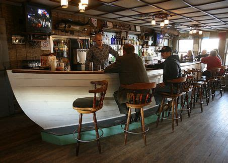 Boat Bar by Boat Shaped Bar Cape Cod Style Boating