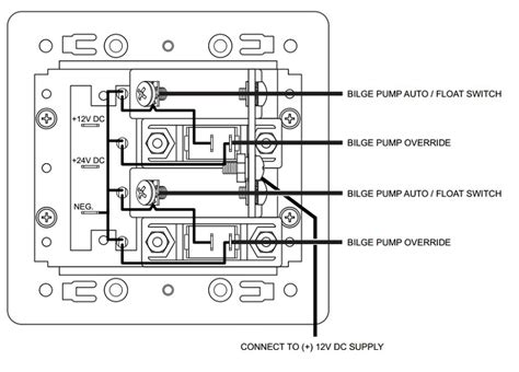 rule bilge pump float switch wiring diagram images rule
