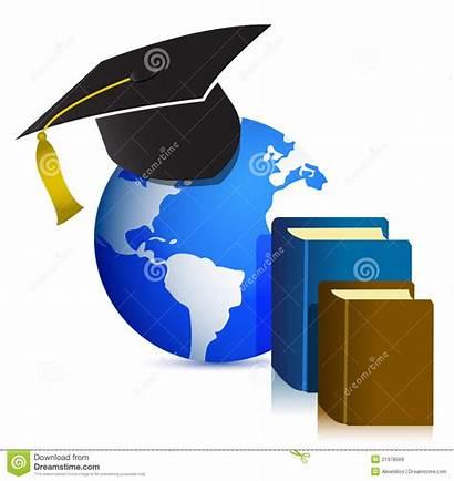 Education Clipart Clip Global Concept Illustration Higher