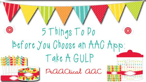 5 Things To Do Before You Choose An Aac App