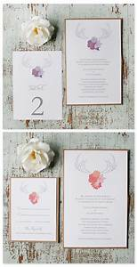 free antler wedding invitations With free printable antler wedding invitations