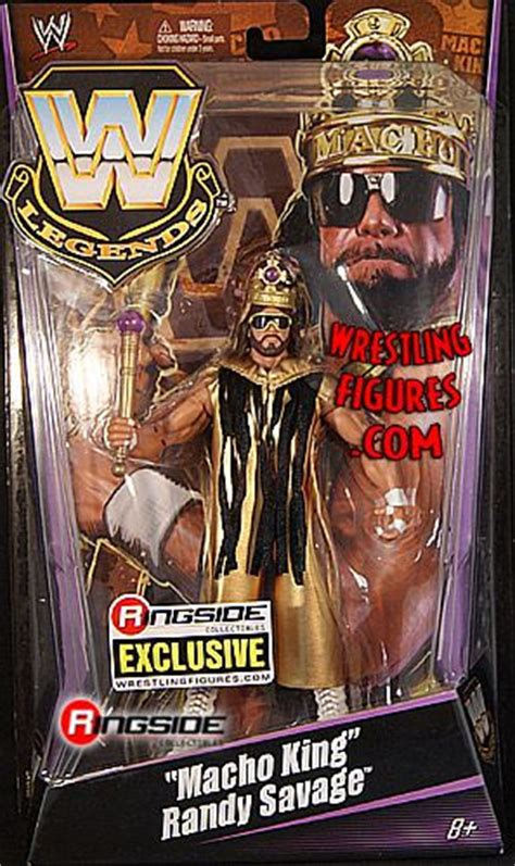 macho king randy savage ringside exclusive ringside collectibles