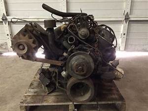 221 Ford V8 Engine Core With Transmission  1962