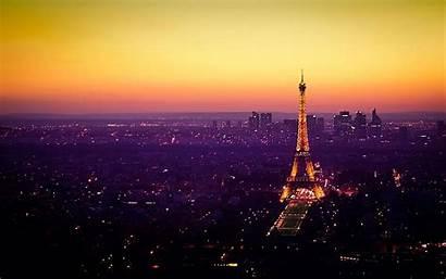 Paris Sunset Landscape Wallpapers Pantalla Fondos Para