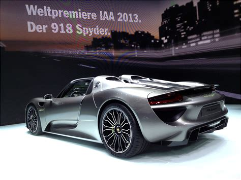porsche electric 918 first ride porsche 918 spyder electric cars and hybrid