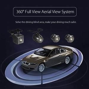 360 Degree Bird View Panoramic System 4 Camera Car Dvr