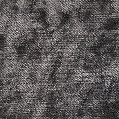 Grey Velvet Upholstery Fabric by Tabley Gunmetal Plain Grey Velvet Upholstery Sofa