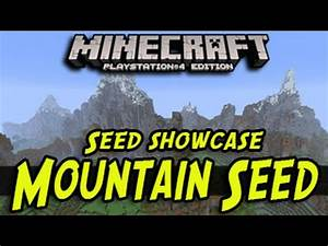 Minecraft PS4 Xbox One Best Survival Mountain Seed
