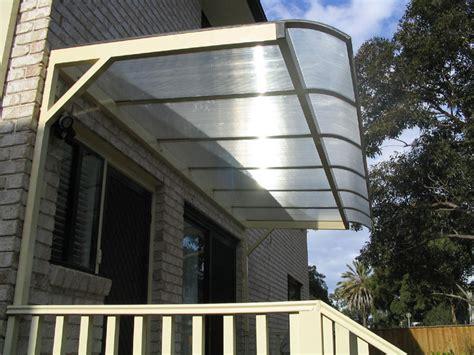 polycarbonate cantilever awnings blind elegance
