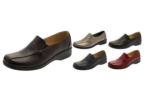 comfortable shoes for work s womens low heel comfort flexi work shoes cushioned