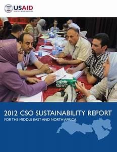 2012 CSO Sustainability Index for the Middle East and ...