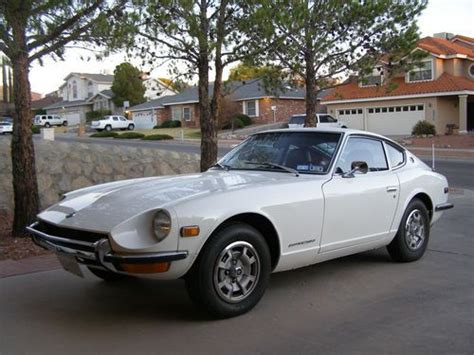 White Datsun by Sell Used 1972 Datsun 240z White With Interior In El