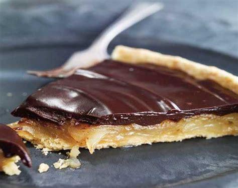 tarte poire chocolat sur p 226 te feuillet 233 e la recette