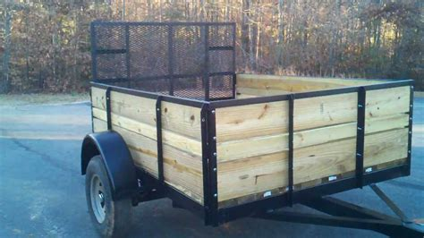 Turn A Boat Trailer Into A Utility Trailer by Boat Trailer Turned Into A Flatbed With Sides 2