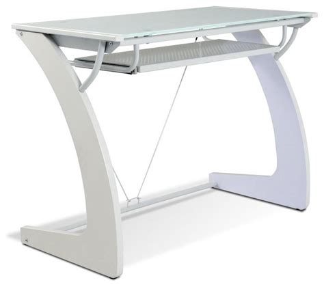 keyboard drawer for glass desk tribeca writing desk with glass top and keyboard tray