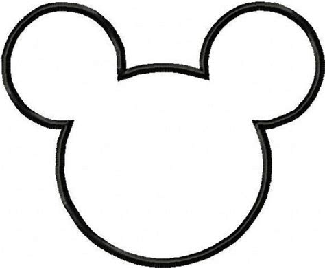 Minnie Mouse Cut Out Template diy mickey minnie pocket tees