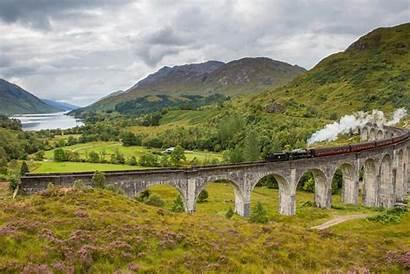 Glenfinnan Scotland Viaduct Highlands Train Visit Scottish