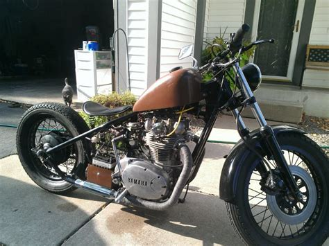 xs650 bobber exhaust hobbiesxstyle