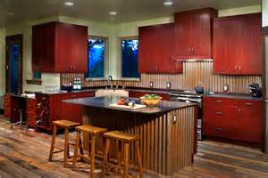 Tin Tiles For Kitchen Backsplash Corrugated Doors An Farm Shed With A Corrugated Roof And Large Doors