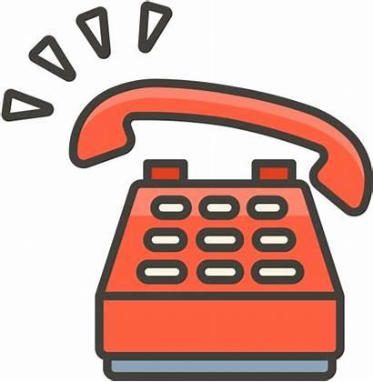 Phone Emoji Telephone Cell Clipart Call Transparent
