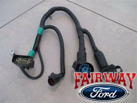 Thru Oem Genuine Ford Pin Trailer Tow Wiring