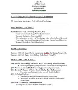 high student resume for summer internship the psychology of resume building college magazine