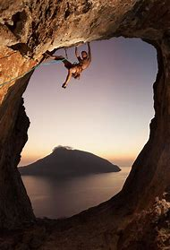 Mountain Rock Climbing Photography