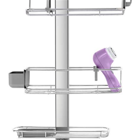 4334 adjustable shower caddy buy simplehuman adjustable shower caddy plus amara