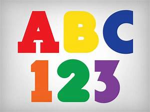 letters numbers stickeryou products With labels and letters