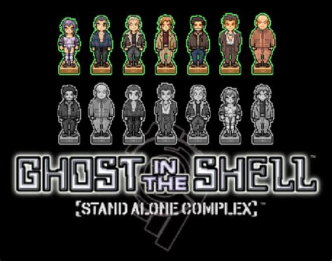 Ghost In The Shell Stand Alone Complex Bandai Games G