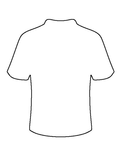 football template printable football jersey pattern use the printable outline for crafts creating stencils scrapbooking