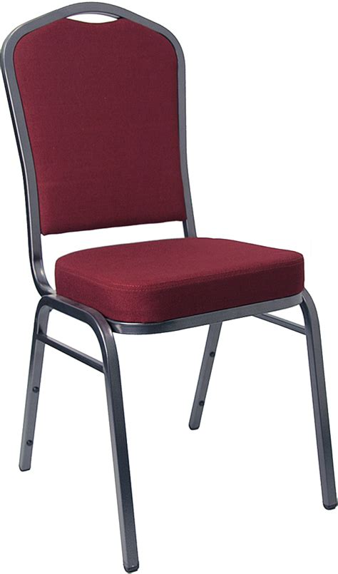 crown back stacking banquet restaurant chair with