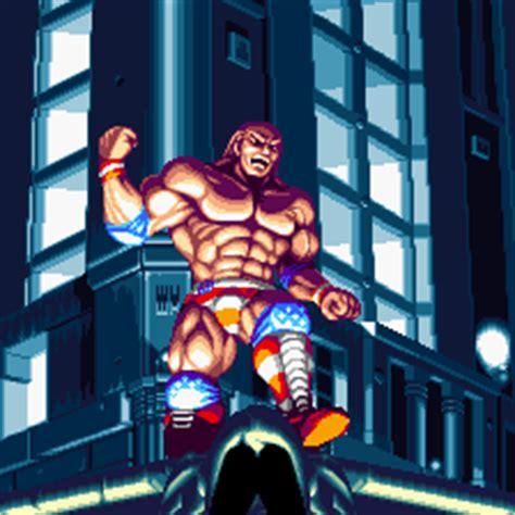 world heroes  jet characters brocken muscle power