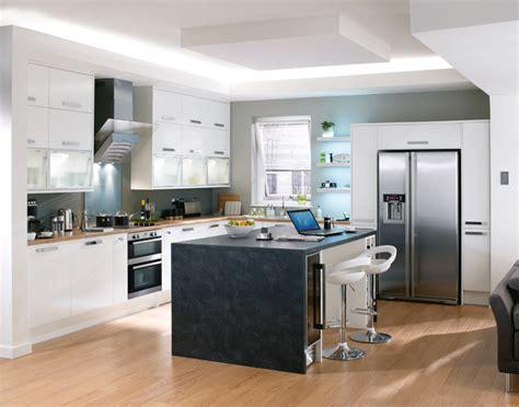 cuisine style americain cuisine avec frigo americain maison design bahbe com