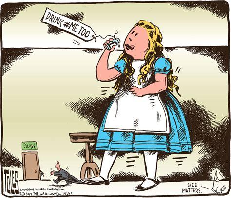 Editorial cartoon: Tom Toles on the 'MeToo' movement