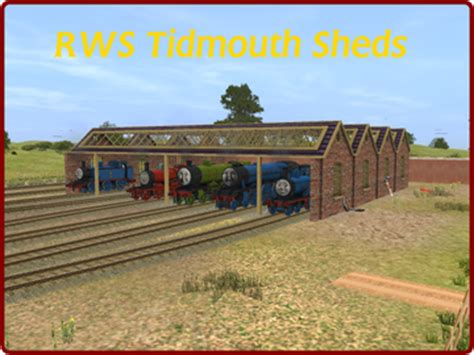 The Tidmouth Shed Layout by Routes Wildnorwester3d S Jimdopage