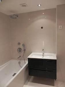renovation appartement architecte dplg With carrelage adhesif salle de bain avec eclairage led avec variateur