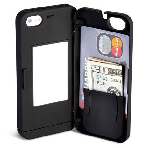 iphone 5 wallet for the iphone 5 with integrated wallet gadgetsin