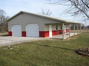 gl hobby complete 30x40x10 pole barn plans With 30x40x10 pole barn