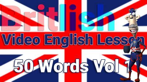 British English Pronunciation of 50 Words No1 - YouTube