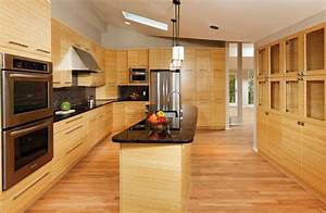 cabinets to coordinate with bamboo flooring - Google