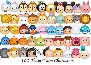 Disney tsum tsum character clipart BBCpersian7 collections
