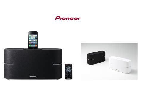 new bluetooth speaker range from pioneer