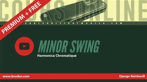 django reinhardt minor swing tab minor swing django reinhardt harmonica chromatique