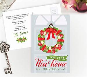 unique moving cards With holiday moving announcements change of address cards